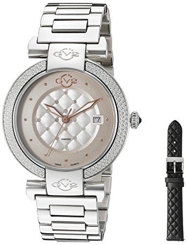 GV2-by-Gevril-Womens-1500-Berletta-Analog-Display-Swiss-Quartz-Silver-Watch
