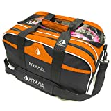 Pyramid Path Double Tote Plus Clear Top Orange