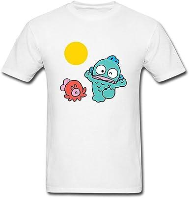 XingL Men's Hangyodon Fish Design T Shirt