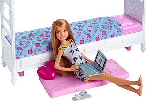 Letto A Castello Barbie.Buy Barbie Sisters Stacie Doll With Bunk Beds Online At Low Prices
