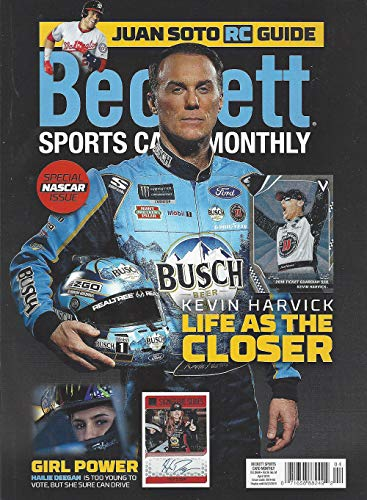 t Sports Card Monthly Price Guide (March 6, 2019 release / K. Harvick cover) ***Pricing for BB begins 2016, BK & HK 17/18 & FB 2018*** Includes pricing for Racing, Soccer, Wrestling, UFC and other sports ()