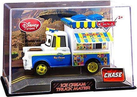 Disney / Pixar CARS 2 Movie Exclusive 1:48 Die Cast Car In Plastic Case Ice Cream Truck Mater