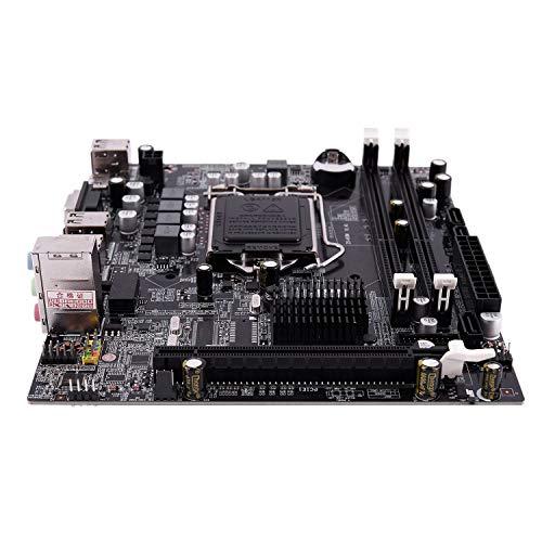 Semoic H55 LGA 1156 Motherboard Socket LGA 1156 ATX Desktop Image USB2.0 SATA2.0 Dual Channel 16G DDR3 1600 for Intel