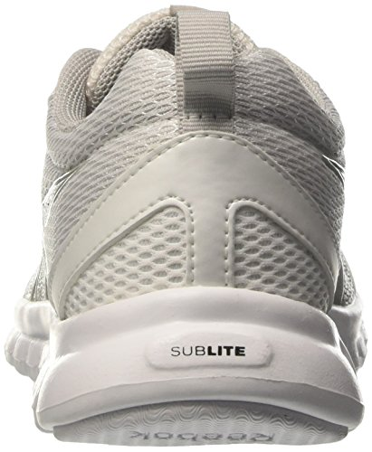 Reebok Sublite Sport, Zapatos para Correr para Mujer Multicolor (White/skull Grey)