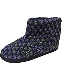 Women's Popcorn Knit Ankle Bootie