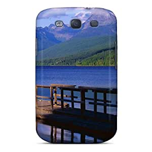 Fashionable Style Case Cover Skin For Galaxy S3- Blue River Mountain