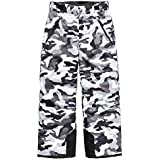 The North Face Boy's Freedom Insulated Pant - TNF Black Camouflage Print - XL