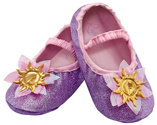 Disguise Costumes Rapunzel Slippers, Toddler, Size 6 -