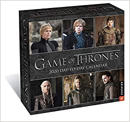 game of thrones 2020 day to day calendar