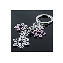 Creative Key Chain for Key (Snowflake)