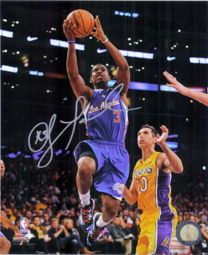 Los Angeles Clippers Photograph (Signed Paul, Chris (Los Angeles Clippers) 8x10 Photo)