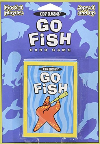 Go Fish: Card Game (Kids Classics) (Fish For Kids)
