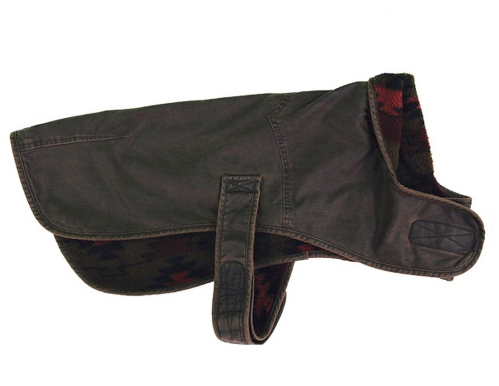 Outback Trading Molly's Canine Coat Brown (M)