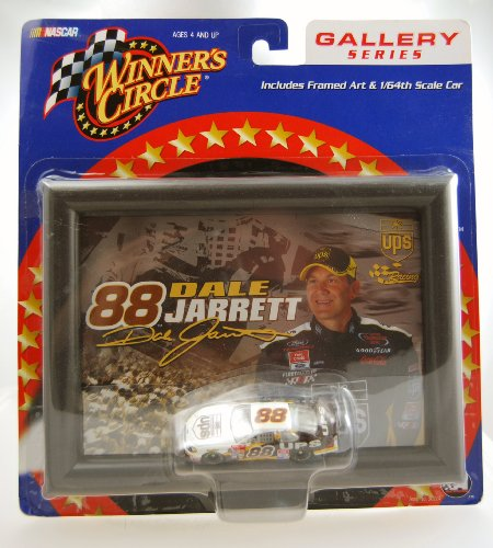 Winners Circle 2002 - Action - NASCAR Gallery Series - Dale Jarrett #88 - UPS Racing - Framed Art & 1:64 Scale Die Cast Car - Ford Taurus - Limited -