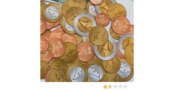 Carpeta Spielgeld - Monedas de 320 Euros en 1, 2, 5, 10, 20, 50 Euros + 1 y 2 Euros: Amazon.es: Juguetes y juegos