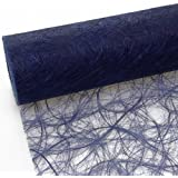 Sizoweb Table Runner - Blue - Dark Blue - 7 by 72, 90, 96, 108... - inch - 64 035-R 200