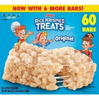 Kellogg's Rice Krispies Treats, (60 ct./0.78 oz.) x2 SA by American Standart