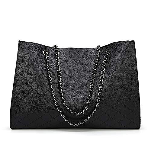 Black à Capacité De Main Fashion Pour Pour Provisions Sacs à Sacs Femmes Femme Grande à Bandoulière Sacs adBx0Wzn