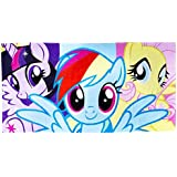 My Little Pony Childrens Girls Official Cotton Beach Towel (One Size) (Multicoloured)