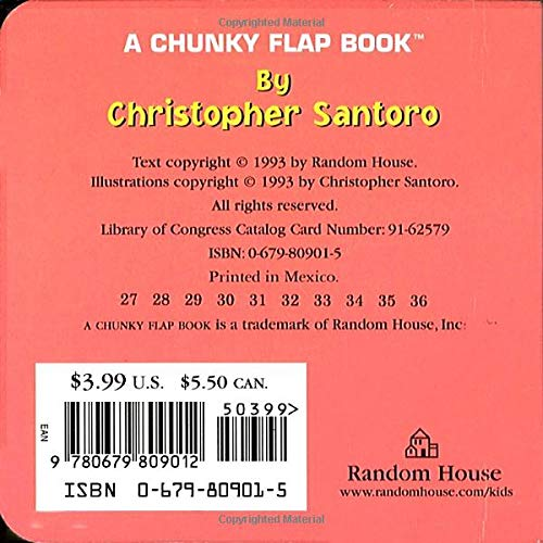 Open The Barn Door A Chunky Book R Board Book April 6