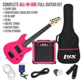 LyxPro 30 Inch Electric Guitar and Starter Kit