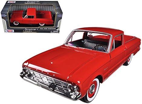 1960 FORD FALCON RANCHERO PICKUP 1//24 DIECAST CAR MODEL MOTORMAX 79321