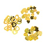 Better Crafts CONFETTI HEART GOLD 24GRAMS (6 pack) (0300007870)