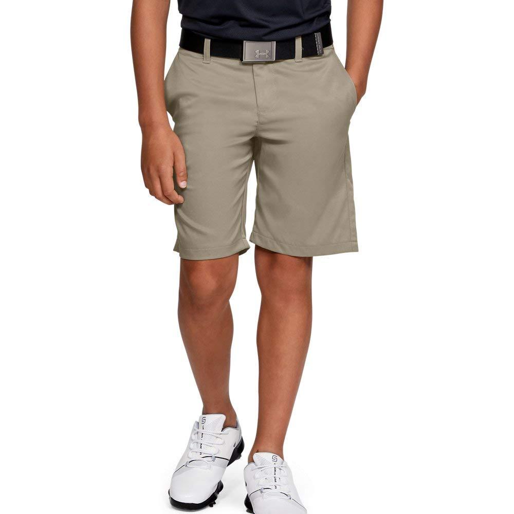 Under Armour boys Match Play 2.0 Golf Short, Barley (233)/Barley, 8