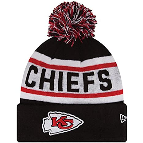 bd2ce796a93 Image Unavailable. Image not available for. Color  New Era Knit Kansas City  Chiefs Biggest Fan Redux Sport Knit Winter Stocking Beanie ...