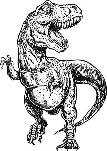 Amazon Com Ew Designs Tyrannosaurus Rex T Rex Dinosaurio Ilustracion Detallada Negro Blanco Vinilo Pegatina Parachoques Dos En Un Paquete 4 Pulgadas De Altura Kitchen Dining Dinosaurio de papel en coche de cartón en negro. ew designs tyrannosaurus rex t rex dinosaurio ilustracion detallada negro blanco vinilo pegatina parachoques dos en un paquete 4 pulgadas de altura