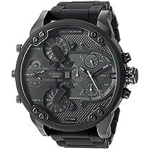 Diesel Men's DZ7396 Mr. Daddy 2.0 Black IP and Silicone Watch