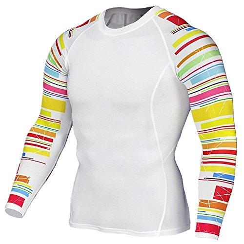 厄介な比べる持続的(ドリーミー ハット) Dreamy hut 長袖 tシャツ メンズ スポーツシャツ 速乾 パワーストレッチ コンプレッショントップス