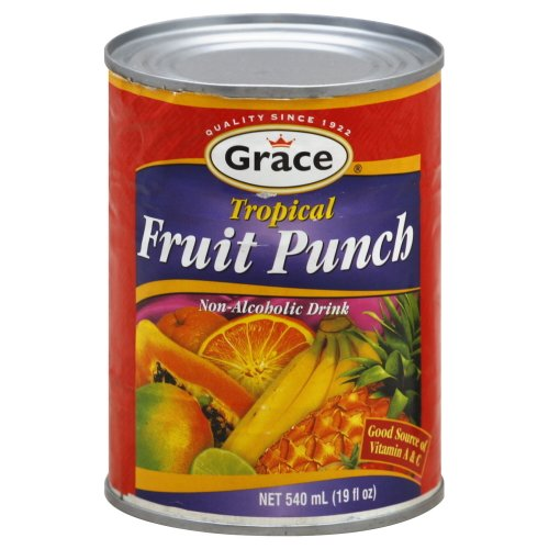 Grace Tropical Fruit Punch Drink Can 18.3 (Frt Punch)