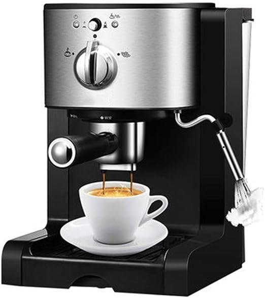 JINRU Máquina de café Express, cafetera de 5 Tazas y Cobre de ...
