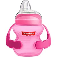 Fisher-Price Spout Sippy Cup for Babies, 6m+, 5 oz/ 150ml. Super Soft Spout. Ideal for Easy Development of Drinking Skills. (Blue)