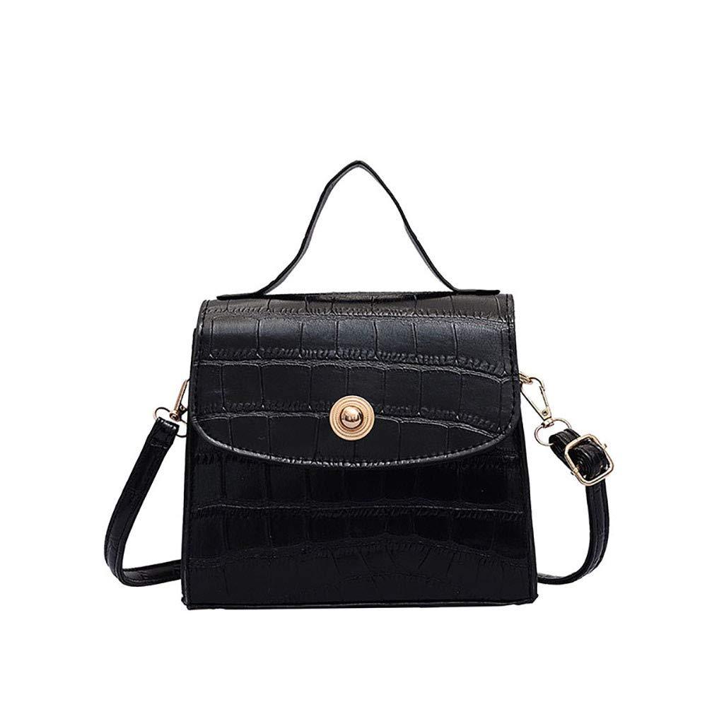 Anxinke Ladies Fashion Crossbody Purses Shoulder Bags Black
