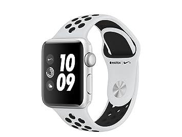 Apple Watch Nike+ OLED GPS (satélite) Plata Reloj Inteligente: Amazon.es: Electrónica