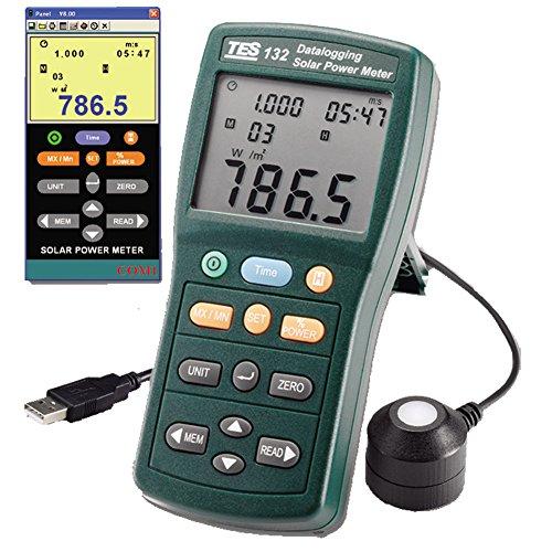 TES 132 Solar Power Meter (Datalogging) - Incidence Meter