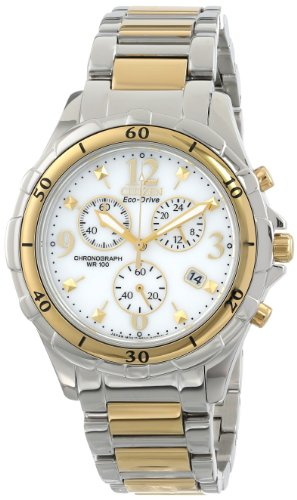 Citizen Women's FB1354-57A Two-Tone Stainless Steel Eco-Drive Watch ()