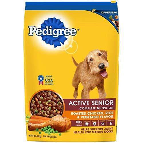 PEDIGREE Active Senior Roasted Chicken Rice Vegetable Flavor Dry Dog Food