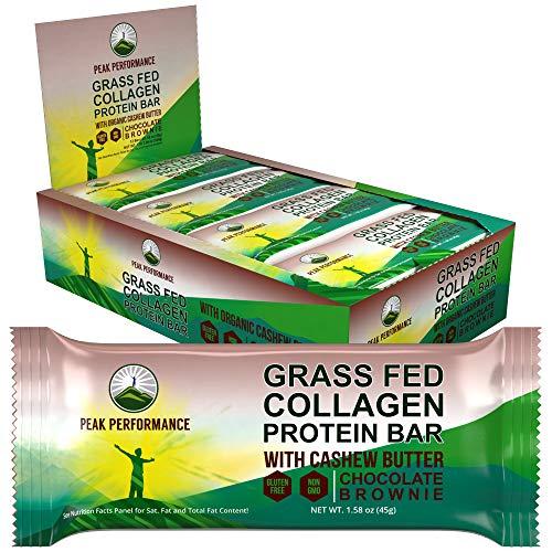 Grass Fed Collagen Protein Bar by Peak...