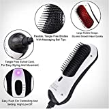 ZQG BEAUTY Hair Dryer Anti-scalding Professional ion Brush Hair...