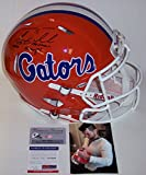Tim Tebow Autographed Hand Signed Florida Gators Speed Full Size Authentic Football Helmet - with 06,08 Champs & 07 Heisman Inscriptions - PSA/DNA