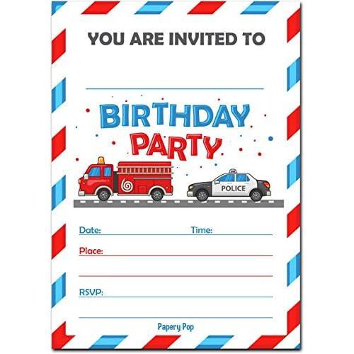 Good Birthday Invitations With Envelopes 15 Count Kids Birthday