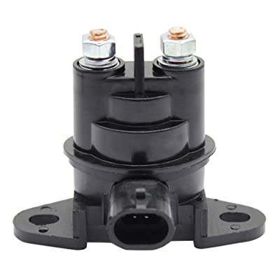 Cyleto Starter Solenoid Relay Switch fits for Bombardier SeaDoo Jet-SKI Boats CHALLENGER 1996-2009 EXPLORER 1995-1997 2002 ISLANDIA 2006-2009 SPEEDSTER 1995-2009 SPORTSTER 1995-2006 UTOPIA 2005-2009: Automotive