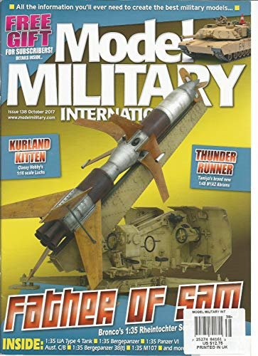 MODEL MILITARY INTERNATIONAL MAGAZINE #138 OCTOBER 2017. ()