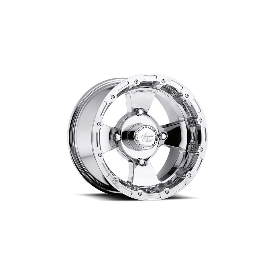 Vision Bruiser 12 Chrome Wheel / Rim 4x156 with a 2.5mm Offset and a 131.1 Hub Bore. Partnumber 161 127156C4