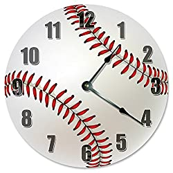 BASEBALL Clock - Large 10.5 Wall Clock - 2287