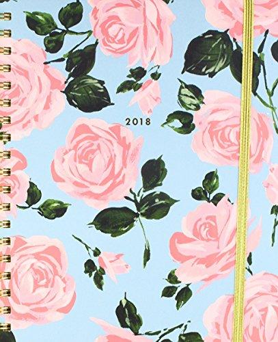 ban.do design 2017-2018 17 Month Large Agenda, Rose Parade (70730)