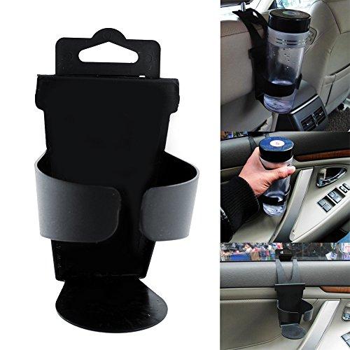Sedeta Car Auto Door Beverages Drinks Bottle Cup Mount Holder Stand Bracket Adjustable Flexible Update